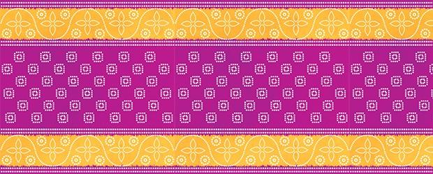 Colorful Saree Fabrics
