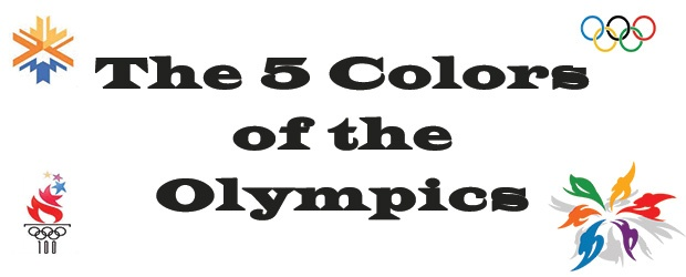 5 Colors of the Olympics