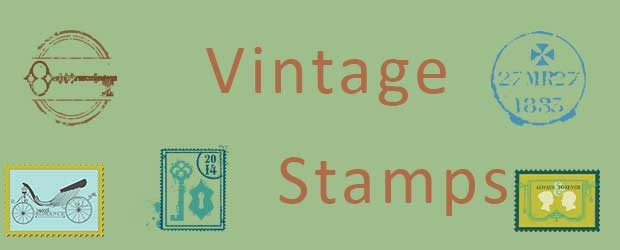 6 Vintage Stamp Resources
