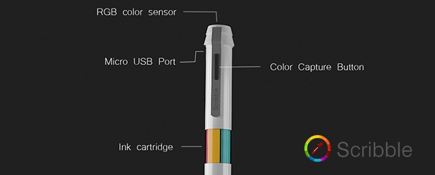 Scribble: One Pen, Any Color