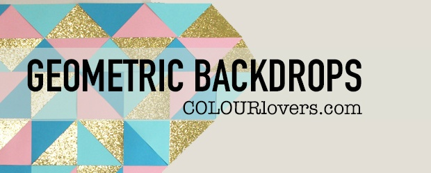 Charismatic Geometric Photo Booth Backdrops