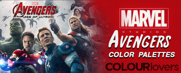 Marvel's Avengers 2 - Character Color Palettes [ Infographic ]