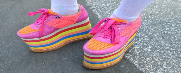 Color Inspiration in Fashion: Colorful Kicks and Shoes of Every Shade